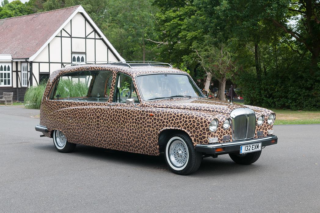 Leopard Skin Hearse
