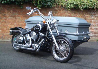 Green's Motorbike Hearse