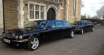 Black Daimler Jaguar Hearses and Limousines